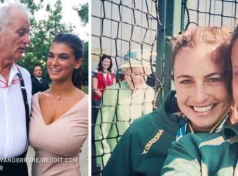 25 People Who Didn't Get Just a Photo With a Celebrity But a Real Photobomb